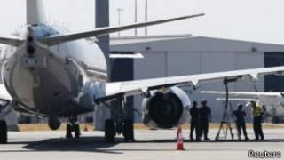 البحث عن الطائرة الماليزية المفقودة