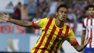Neymar jogando pelo Barcelona / Crédito da foto: Reuters