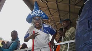 Umukunzi wa Rayons Sports kuri stade ya Muhanga