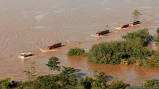 Cheia do Rio Madeira, no Acre   Crédito: Agência de Notícias do Acre