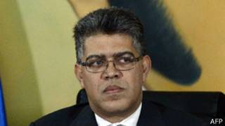 Elías Jaua, canciller de Venezuela