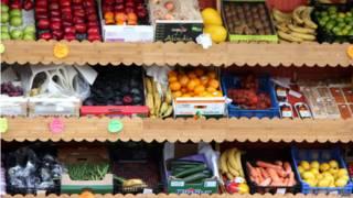 Frutas e vegetais | Crédito: BBC