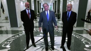 Президент Буш-мл в ЦРУ