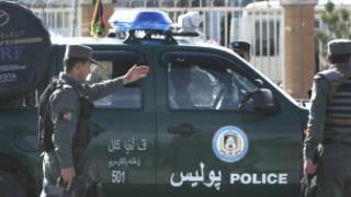 Policía en Afganistán