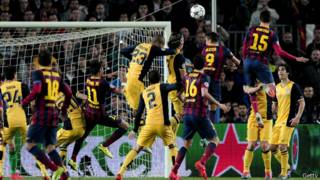 Игра Барселоны