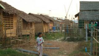 Slam housing in Rangoon