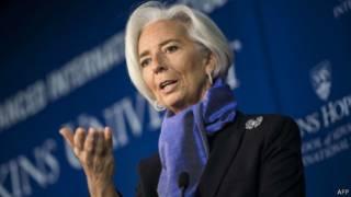 الفرنسية كريستين لاجارد رئيسة صندوق النقد الدولي