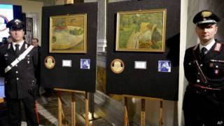 Картины Гогена и Боннара