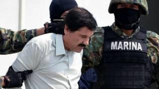 """Captura de Joaquín """"El Chapo"""" Guzmán. Foto Getty Images."""