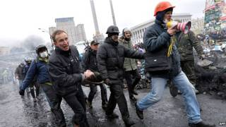 यूक्रेन प्रदर्शन