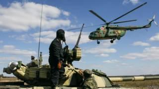 Украинская армия в Чернигове