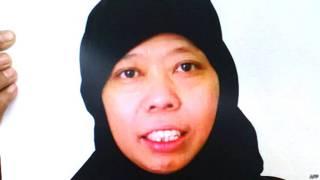 इंडोनेशियाई नौकरानी सतीना