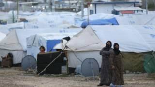 مخيم للاجئين في اربيل