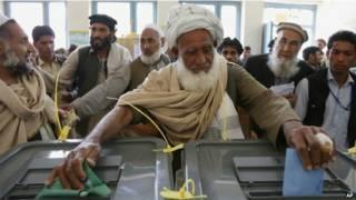 अफगानिस्तान में चुनाव