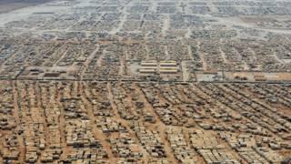 Лагерь беженцев Заатари