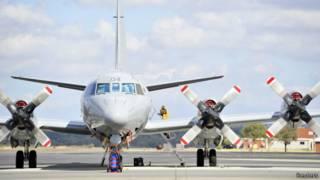 Новозеландский военный самолет, участвующий в поиске MH370