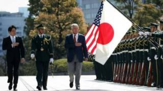 министр обороны США Хейгл в Японии