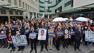 Periodistas BBC