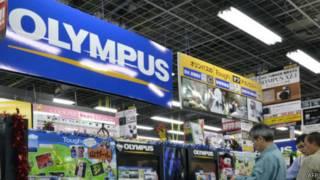 علامة شركة أوليمبس اليابانية