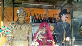 La Santa Muerte y Jesús Malverde, santos de los narcotraficantes mexicanos