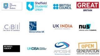 支持We Are International运动的部分机构