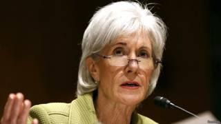अमरीकी स्वास्थ्य मंत्री कैथलीन सेबेलिस