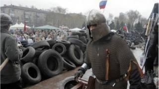 احتجاجات شرق أوكرانيا