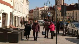 Жители Вильнюса