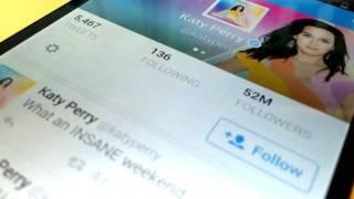 Twitter-королева Кеті Перрі має 52 млн підписників – це більше, ніж в Ріанни та Брітні Спірс