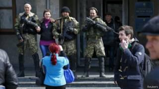 Militan pro-Rusia