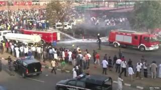 नाइजीरिया बस स्टैंड विस्फोट