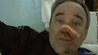 Петхов (Петков) на больничной койке