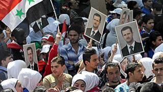 Zaben shugaban kasar Syria