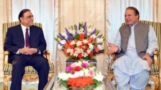 नवाज़ शरीफ़, आसिफ़ अली ज़रदारी