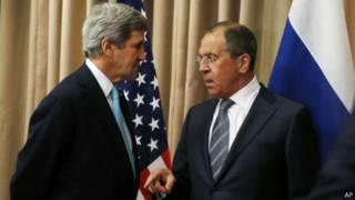 Керрі і Лавров: нарешті домовленість