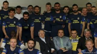 Fenerbahçe Başkanı Aziz Yıldırım veda konuşması yaptı
