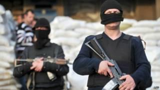 مسلحين موالين لروسيا