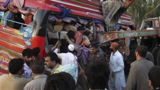 पाकिस्तान सड़क दुर्घटना