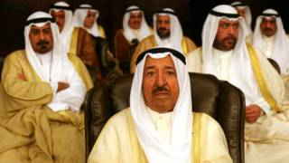 حاكم الكويت الأمير صباح الأحمد الجابر الصباح