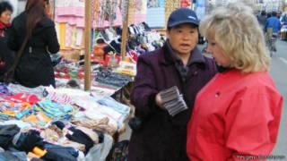 На китайском рынке в Благовещенске