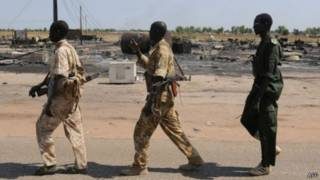 Повстанцы в Южнос Судане