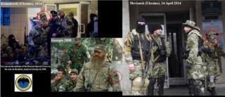 Российский солдат на Украине и в Грузии?