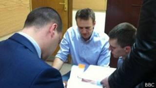 Алексей Навальный в Бабушкинском суде