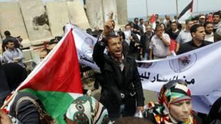 Демонстрация в Секторе Газа