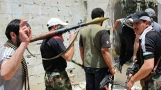 المقاتلون المعارضون في سوريا
