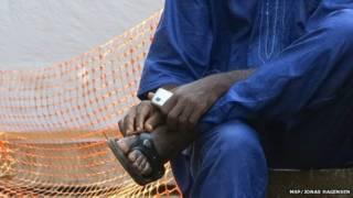 Hombre en Guinea