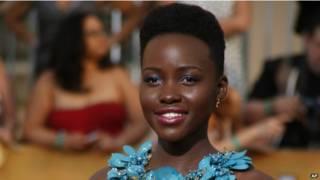 الممثلة الكينية، لوبيتا نيونغو