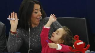 Licia Ronzulli y su hija