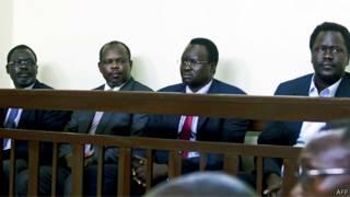 سجناء سياسيين في جنوب السودان