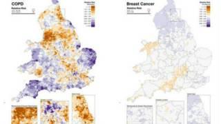 الخريطة الصحية